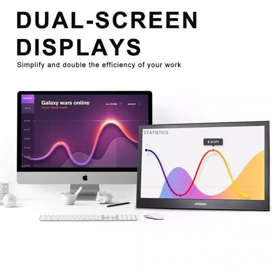 1062041485 2058376659 555x555 - Monitor portátil 13,3 pulgadas 2K IPS LCD