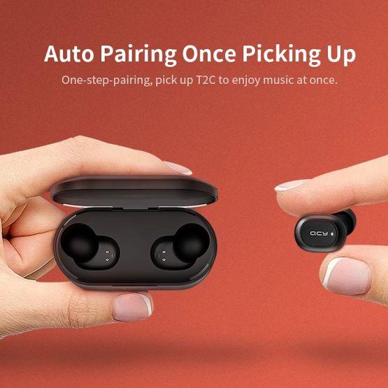 1752257930935530272 555x555 - Audifonos Bluetooth QCY QS2 5.0 Audio de Alta Calidad