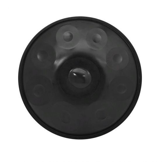 20191022023901 555x555 - Hand Pan De 9 Notas de acero al Carbono negro Tambor de mano
