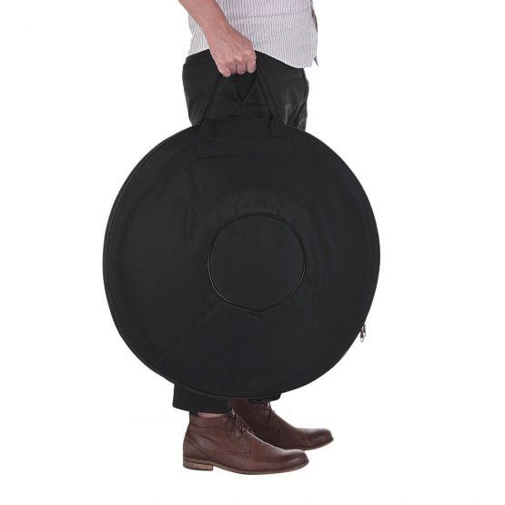 20191022023916 555x555 - Hand Pan De 9 Notas de acero al Carbono negro Tambor de mano