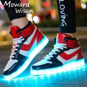 72717905 10217844929668032 5817403369865609216 n 300x300 - Tenis de Carga USB Zapatillas luminosas zapatos Led de zapatos iluminados