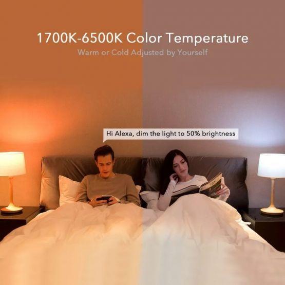 72726561 10217839280646810 2003995112832499712 n 555x555 - Xiaomi Yeelight Bombilla inteligente  LED de 800 lúmenes 10W E27 socket lámpara RGBW