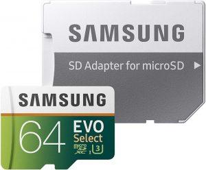 74296825 10217839384889416 9119634678142205952 n 300x248 - Samsung Memoria micro SD Samsung Evo Select XC I3 4K Ready 64 GB