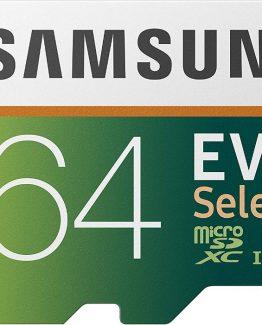 75196242 10217839385329427 7293535770680229888 n 262x325 - Samsung Memoria micro SD Samsung Evo Select XC I3 4K Ready 64 GB