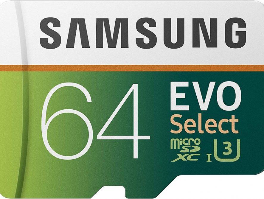 Samsung Memoria micro SD Samsung Evo Select XC I3 4K Ready 64 GB