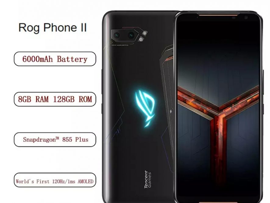 Asus ROG Phone 2 con 12 GB RAM 128 GB ROM Pantalla 120 Hz