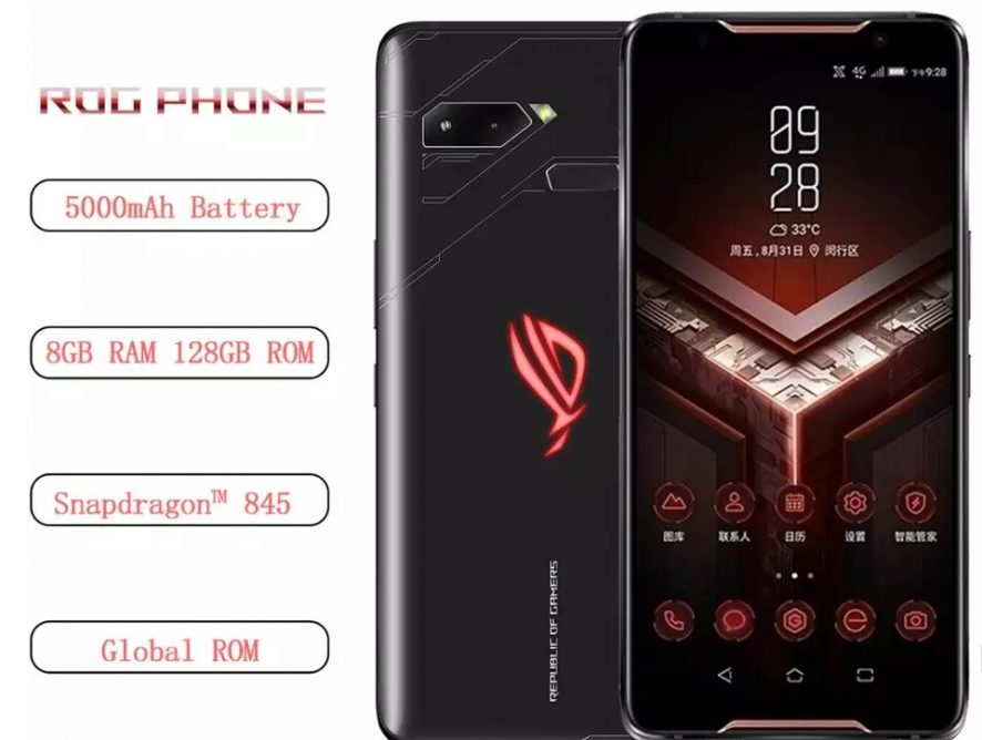 Asus ROG Phone Zs600kl 4G Gaming 8 GB RAM 128 GB ROM