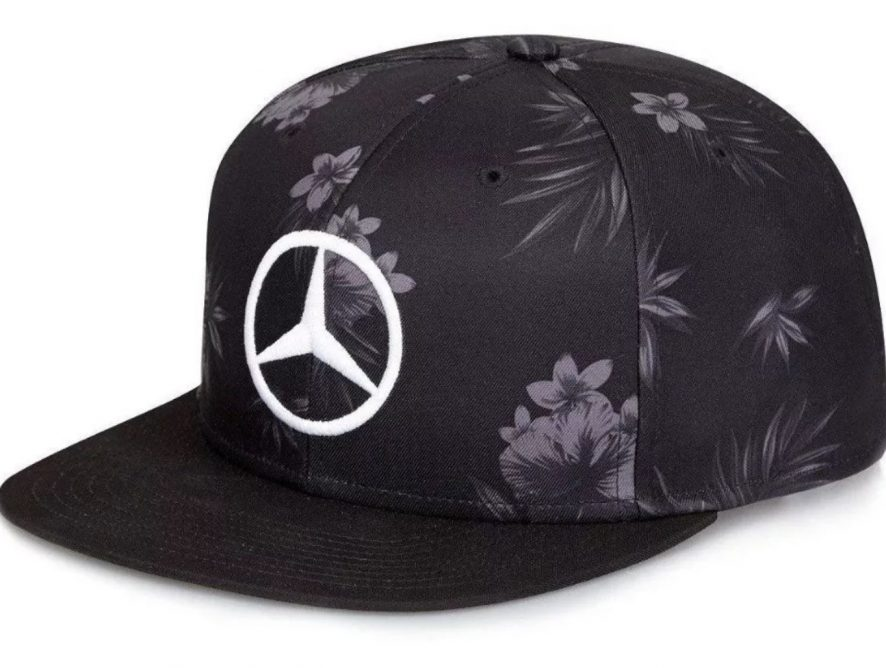 Gorra Lewis Hamilton Negra F1 Mercedes Japón