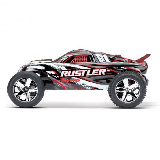 rustler 110 rtr 2wd rojo 2 555x555 - Traxxas Rustler