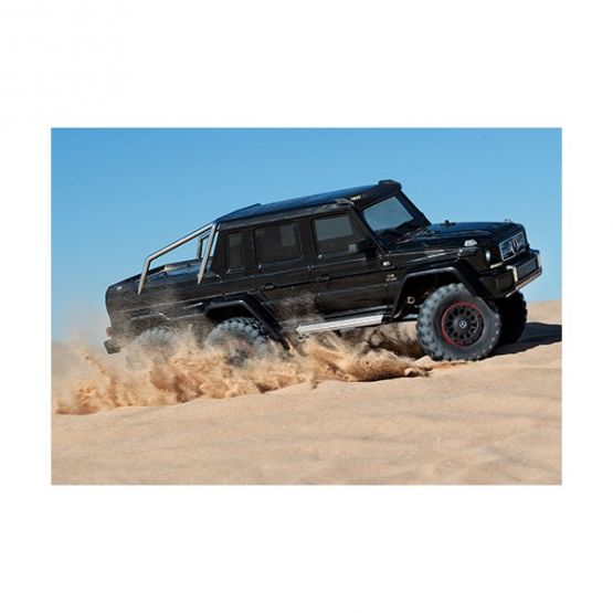 rx 6 scale and trail crawler with mercedes benz 2 555x555 - TRX-6 Mercedes-Benz G63 AMG 6x6