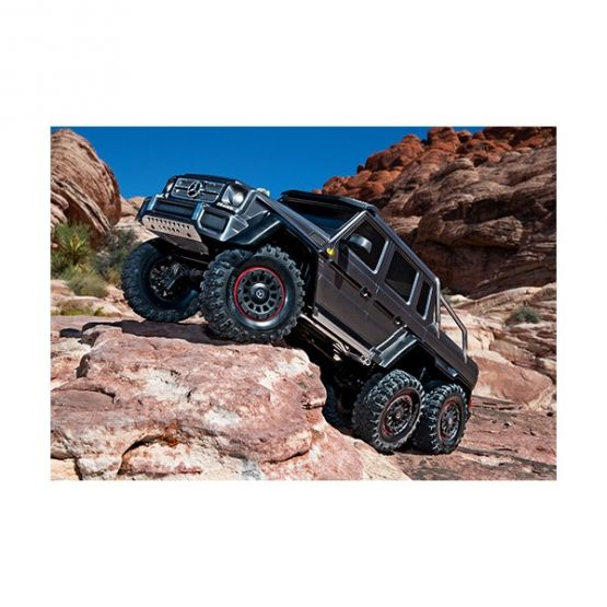 rx 6 scale and trail crawler with mercedes benz 3 555x555 - TRX-6 Mercedes-Benz G63 AMG 6x6