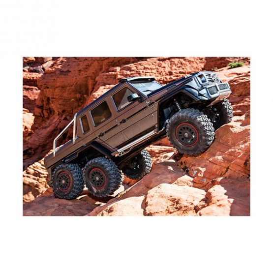 rx 6 scale and trail crawler with mercedes benz 555x555 - TRX-6 Mercedes-Benz G63 AMG 6x6