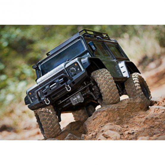 trx 4 scale trail crawler defender 4wd rtr w tqi radio 1 555x555 - TRX-4 Trail Crawler Defender 4WD RTR