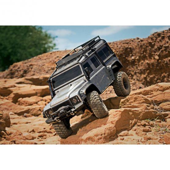 trx 4 scale trail crawler defender 4wd rtr w tqi radio 555x555 - TRX-4 Trail Crawler Defender 4WD RTR