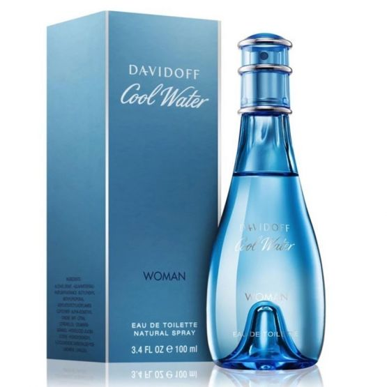 davidoff cool water w edt 100ml 555x555 - DAVIDOFF COOL WATER 100 ML