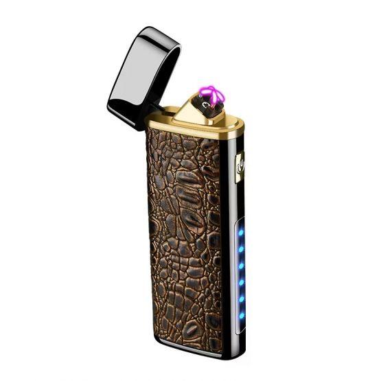 2647046871013758732 555x555 - Encendedor Electrónico de Doble Arco con linterna recargable
