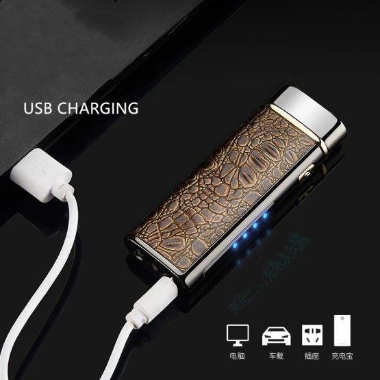 5758433121645234110 555x555 - Encendedor Electrónico de Doble Arco con linterna recargable