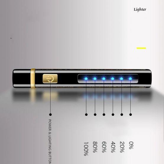 621290895 690342616 555x555 - Encendedor Electrónico de Doble Arco con linterna recargable