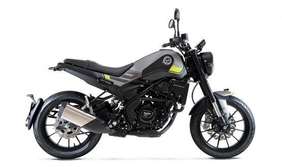 leoncino250 gray 555x329 - Motocicleta Benelli Leoncino 250cc Modelo 2020