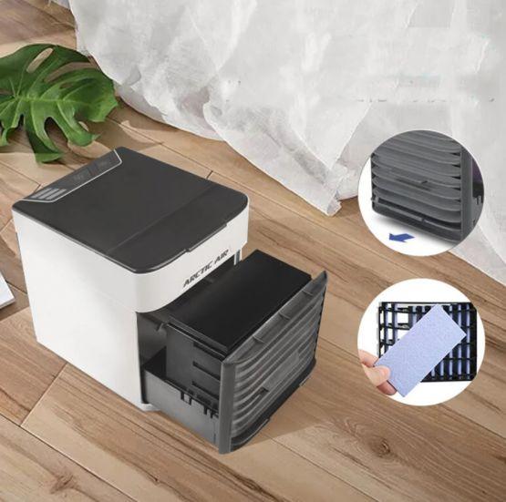 Bakeey aire acondicionado portatil usb 4 555x551 - Bakeey USB Aire Acondicionado Portatil y Humidificador