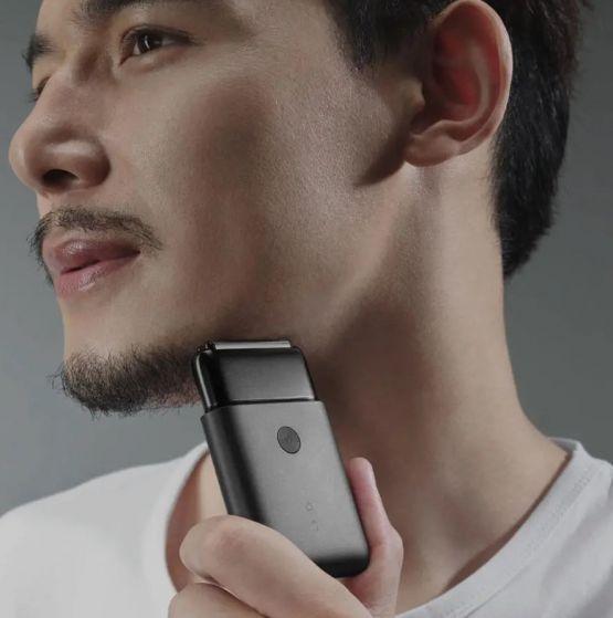 Rasuradora electrica xiaomi mijia mini shaver 4 555x559 - Afeitadora Xiaomi Mijia Portable Dual Blade Electrica