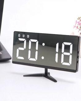 Reloj Pantalla Digital Alarma Touch Tactil Sin marco Hogar Oficina 262x325 - Reloj sin Marco y Alarma Digital Tactil para Hogar y Oficina