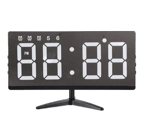 Reloj Pantalla Digital Alarma Touch Tactil Sin marco Hogar Oficina 2 555x494 - Reloj sin Marco y Alarma Digital Tactil para Hogar y Oficina