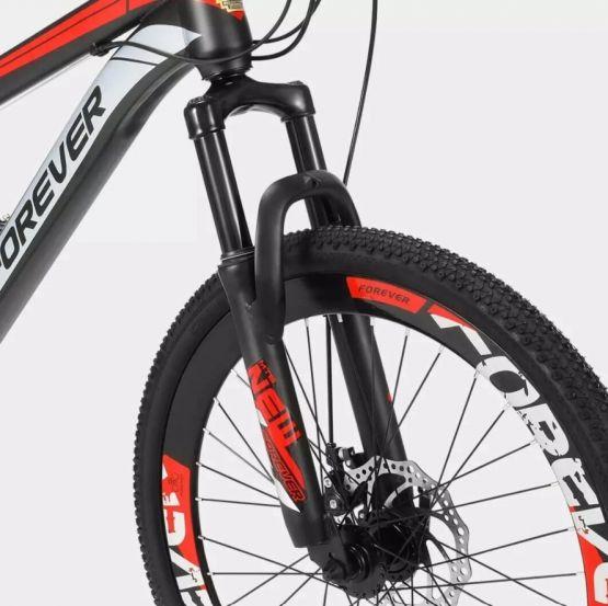 Xiaomi Youpin Forever P10 Bicicleta Montana 4 555x553 - Xiaomi Youpin FOREVER P10 22/24Pulgadas 24 Velocidades Bicicleta de Mountaña Off-road