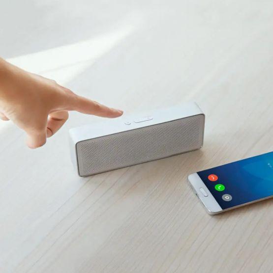 Xiaomi square box 1200mAh Wireless Bluetooth Bocina Speaker with mic 4 555x556 - Xiaomi Square Box 1200mAh Wireless Bluetooth Bocina
