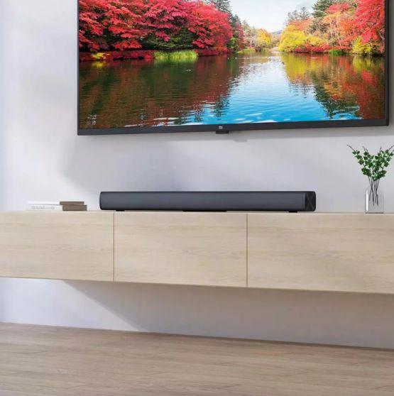 Xioami redmi tv wireless speaker bocina Stereo Bluetooth 4 555x558 - Barra de sonido Xiaomi Redmi TV Bar Wireless Speaker 30W con Bluetooth