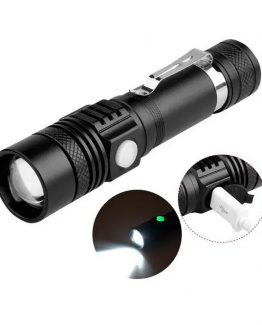 linterna xanes wt518 t6 recargable usb zoom portatil 262x325 - Linterna Xanes WT518 XM-L T6 1000L Recargable